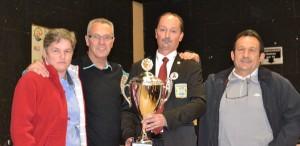 Vainqueurs de la coupe du Morbihan de petanque