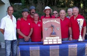 equipe gagnante en phase finale coupe des aines