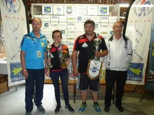 Champions doublette mixte petanque 2016