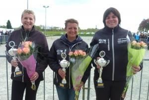championnes de petanque triplette feminine 2016