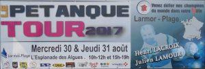 Petanque Tour 2017 à Larmor-Plage