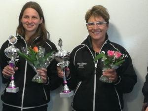 Mélanie Huby et Corinne Le Félic championnes doublette 2018